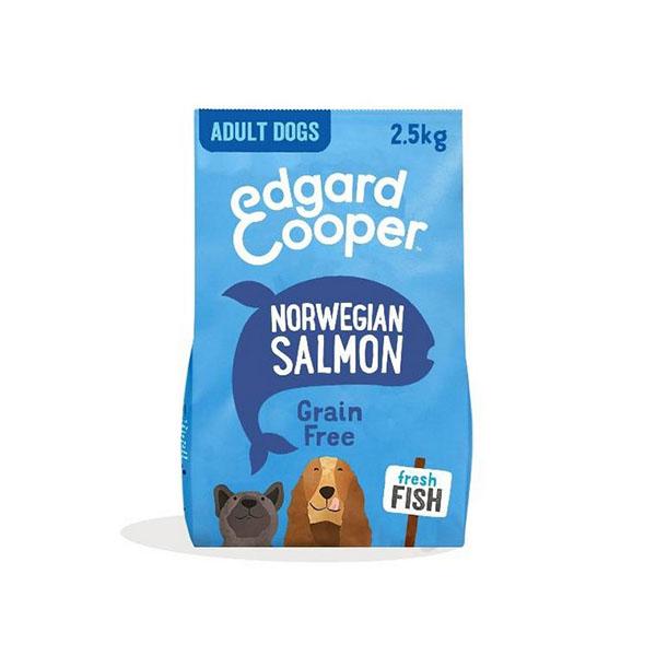 Foto principale Crocchette per Cani Adulti Edgard & Cooper Gusto Salmone Norvegese 2,5kg