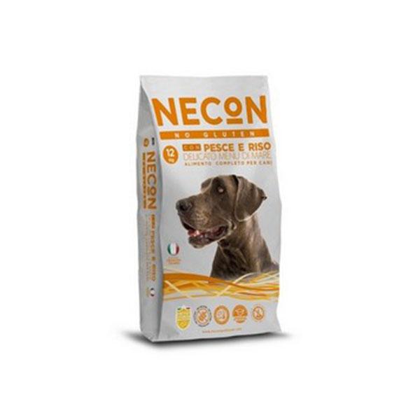 Foto principale Crocchette per Cani Senza Glutine Necon Gusto Pesce e Riso 12kg