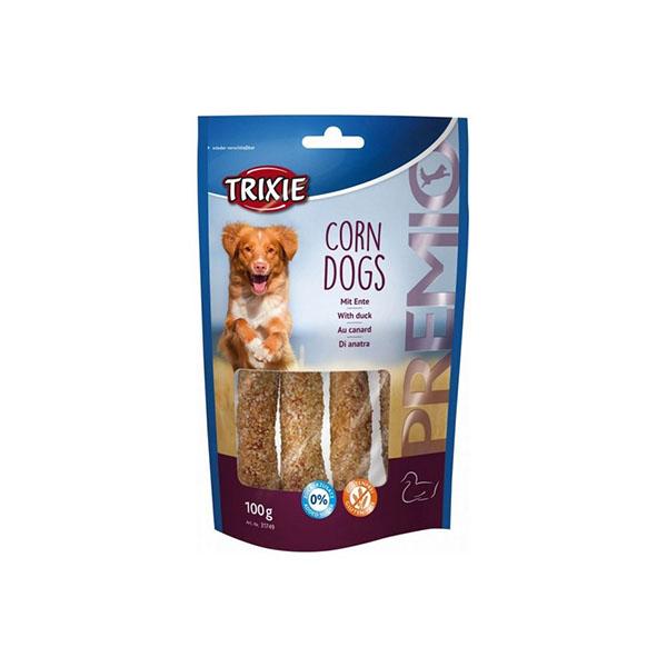 Foto principale Snack per Cani Trixie Premio Corn Dogs Gusto Anatra 100gr