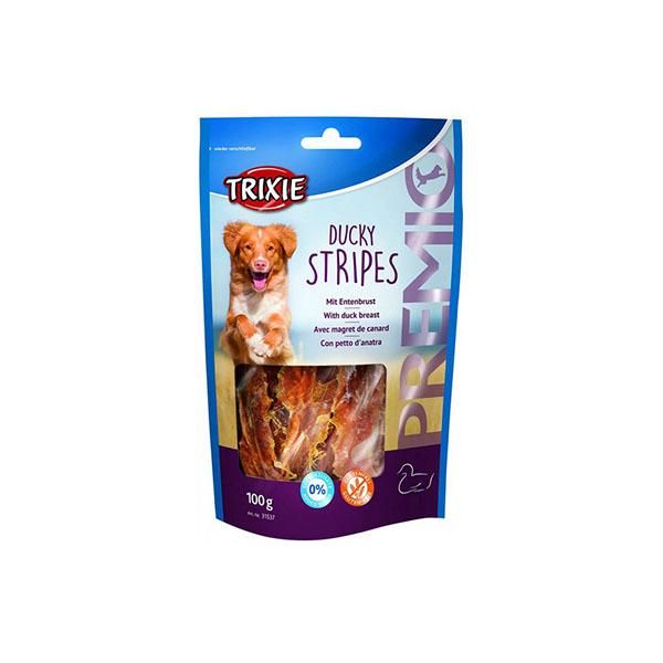 Foto principale Snack per Cani Trixie Premio Ducky Stripes Gusto Anatra 100gr
