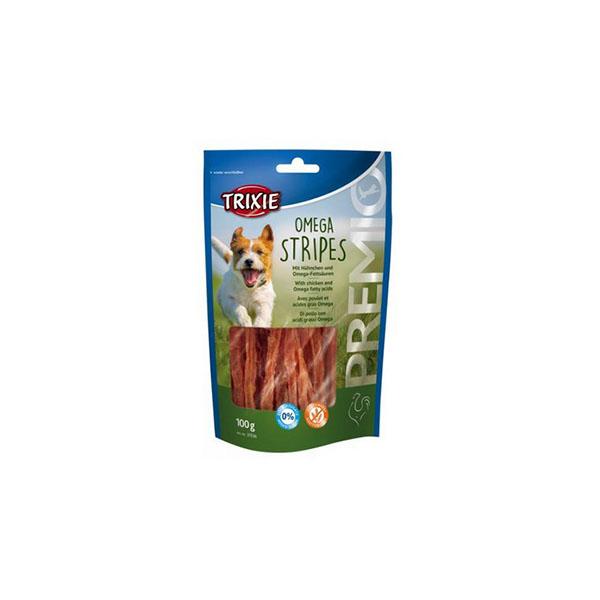 Foto principale Snack per Cani Trixie Premio Omega Stripes Gusto Pollo 100gr