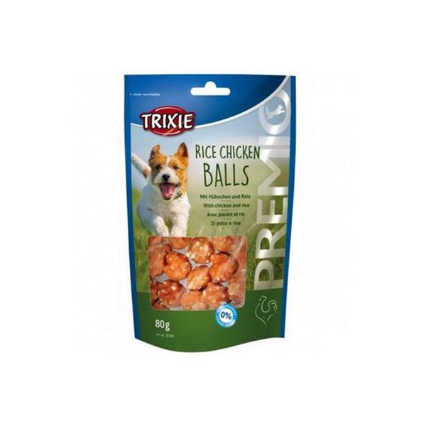 Foto principale Snack per Cani Trixie Premio Rice Chicken Balls Gusto Pollo e Riso 80gr
