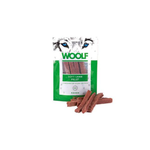 Foto principale Snack per Cani Woolf Gusto Filetto Morbido d'Agnello 100gr