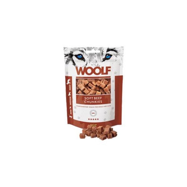 Foto principale Snack per Cani Woolf Gusto Manzo 100gr