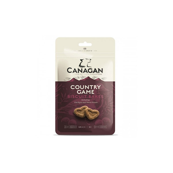 Foto principale Snack per Cani Canagan Country Game Biscuit Bakes Gusto Selvaggina 150gr
